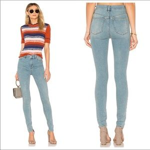NWT free people long and lean jeans